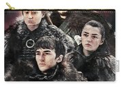 Game Of Thrones.the Last Of Stark. Carry-all Pouch