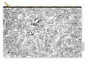 Gaming Themed Coloring Poster Carry-all Pouch