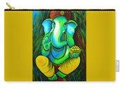 Ganesh In Garden Carry-all Pouch