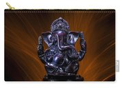 Ganesha With Fire Background Carry-all Pouch