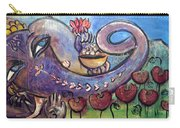 Ganesha With Poppies Carry-all Pouch