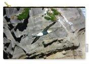 Gannet In Flight Carry-all Pouch