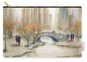 Gapstow Bridge And Lovers Carry-all Pouch