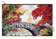 Gapstow Bridge I Carry-all Pouch
