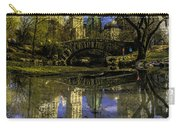 Gapstow Bridge In Central Park Carry-all Pouch