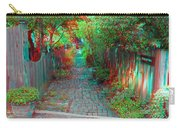 Garden Alley - Use Red-cyan 3d Glasses Carry-all Pouch