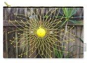 Yellow Sunflower Garden Art Carry-all Pouch