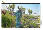 Garden At Carmel Mission-california Carry-all Pouch