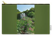 Old Garden Beach Flowers Carry-all Pouch