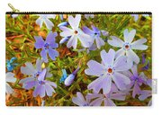 Flower Photography- Floral Art- Digital-floral Fireworks Carry-all Pouch