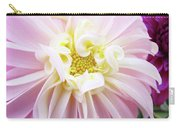 Garden Floral Art Pink Dahlia Flower Baslee Troutman Carry-all Pouch