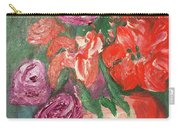 Garden Flowers In Vase 1 Carry-all Pouch