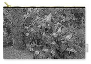 Garden Hydrangeas In Grayscale Carry-all Pouch