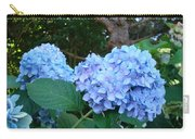 Garden Landscape Blue Hydrangeas Art Print Baslee Troutman Carry-all Pouch