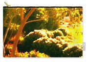 Garden Landscape On A Sunny Day Carry-all Pouch