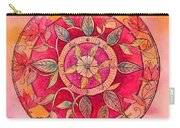 Garden Mandala Carry-all Pouch