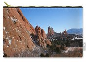 Garden Of The Gods Winter Carry-all Pouch