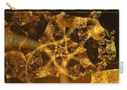 Garden Of The Golden Orbs Carry-all Pouch by Ron Bissett