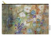 Garden Of White Flowers Carry-all Pouch