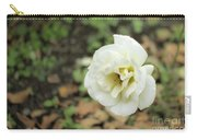Garden Party Hybrid Tea Rose, White Rose Originally Produced By Carry-all Pouch