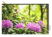 Garden Rododendron Bush Carry-all Pouch
