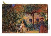 Garden Scene In Brittany 1886 Carry-all Pouch