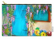 Garden Secrets - Wisteria Carry-all Pouch