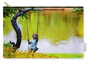 Garden Swing By The River Carry-all Pouch