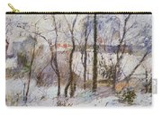 Garden Under Snow Carry-all Pouch