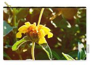 Garden Yellow Carry-all Pouch