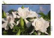 Gardenia Flowers Carry-all Pouch