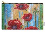 Gardens Poppy Carry-all Pouch