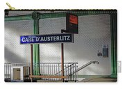 Gare D'austerlitz In Paris, France Carry-all Pouch
