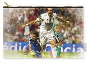 Gareth Bale Celebrates His Goal  Carry-all Pouch