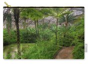 Garfield Park Conservatory Pond And Path Chicago Carry-all Pouch