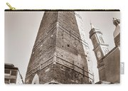 Garisenda Tower In Bologna Carry-all Pouch