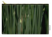 Garlic Chive Season Carry-all Pouch