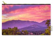 Garner Valley Sunset Carry-all Pouch