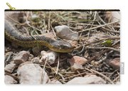 Garter Snake On The Trail In The Pike National Forest Of Colorad Carry-all Pouch
