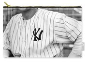 Gary Cooper As Lou Gehrig In Pride Of The Yankees 1942 Carry-all Pouch
