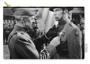 Gary Cooper Getting A Medal Of Honor As Sergeant York 1941 Carry-all Pouch
