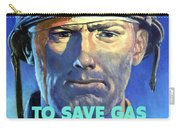 Gas Conservation Ww2 Poster Carry-all Pouch