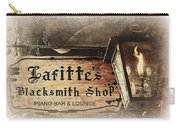 Gas Light At Lafitte's Blacksmith Shop Carry-all Pouch