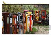 Gas Pump Conga Line In New Mexico Carry-all Pouch
