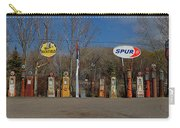 Gas Pumps And Gas Signs Panorama Carry-all Pouch