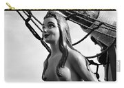 Gasparilla Girl Carry-all Pouch by David Lee Thompson