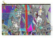 Gasparilla Pirates Invade Tampa Carry-all Pouch by Carol Groenen