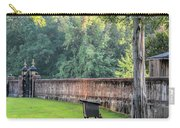 Gate And Brick Wall At Shiloh Cemetery Carry-all Pouch
