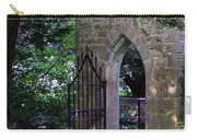 Gate At Cong Abbey Cong Ireland Carry-all Pouch