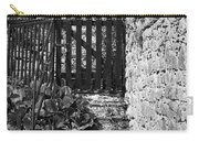 Gate At Dunguaire Castle Kinvara Ireland Carry-all Pouch